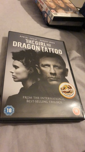 The Girl with the dragon tattoo dvd