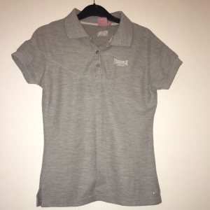 Grey Lonsdale polo shirt