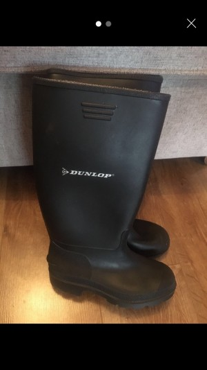 Dunlop Wellies. Size 3