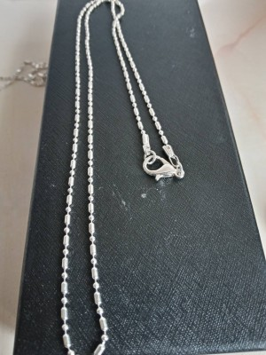 18-inch sterling silver chain