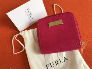 New Fushia Pink Furla Purse