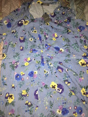 Oasis Floral Dress Size 22 Brand New