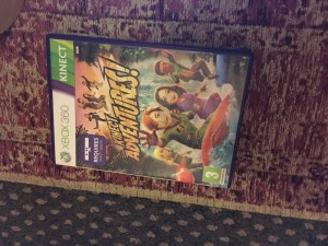 Xbox 360 Kinect adventures game