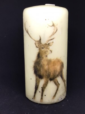 Wrendale inspired candle