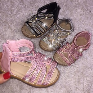 Lemmy Adore Sandals Baby Pink £24.99 Glitter Sandals Soft padded sole