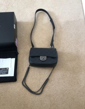 Chanel Flap Bag Black New Authentic. Condition is New with tags.