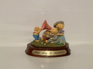 Vintage Sing Song Figure Teddy Bears Playtime Gifts Home Decor
