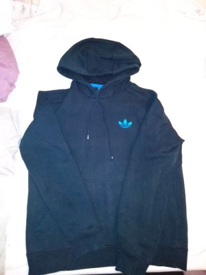 blue Adidas jumper, only worn a few times
