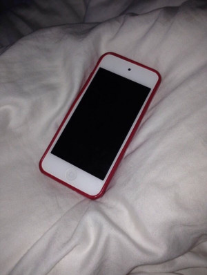 iPod 5th generation for sale  Pink and white in colour ,16gb , in good condition. Reason for resale due to lack of use. Comes with dark pink/ red case and a white floral pouch/bag also!