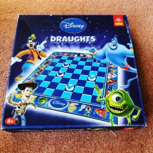 Official Disney Trefl Draughts board Game Age 4+ 2 Players 15-20 Game