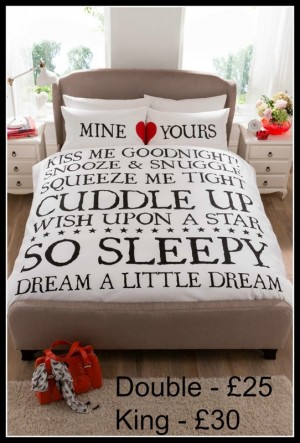 Mine and Yours Duvet Sets