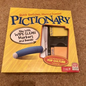 Mattel Games Pictionary Quick Draw Guessing Fun Family Party Board Gam