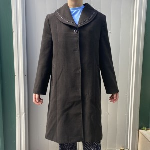 ladies vintage long coat