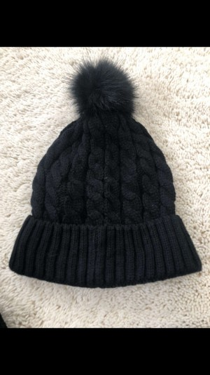 New look black beanie