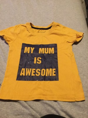 Boys Primark Yellow T-Shirt - Aged 24-36 Months