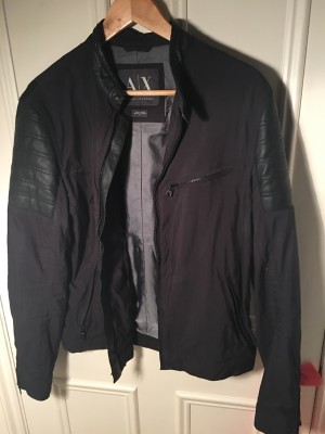 Armani Exchange biker jacket (medium)