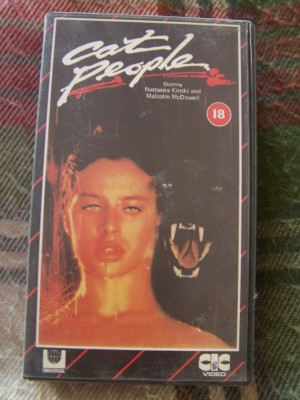 VHS tape Cat People