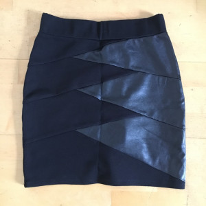 Tally Weijl fitted black skirt; brand new without tags, only worn to try on