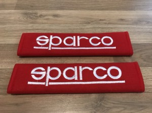 2X Seat Belt Pads Cotton Gift Sparco Bucket Seats Sport Subaru Ford Au