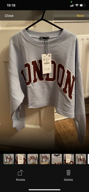 Brand new with tags zara jumper size medium