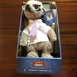 Sergei Meerkat New Plush Toy in Box with Certificate Gift