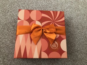 Body shop mango gift set