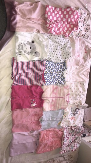 Baby grow bundle 3-6months