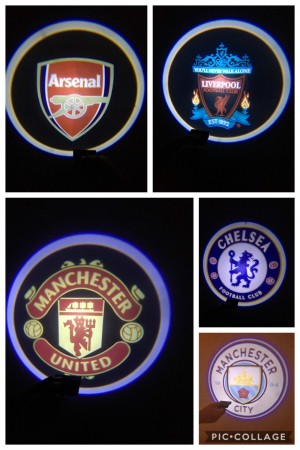 Football Car Door Lights