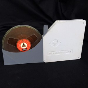 Vintage BASF Reel To Reel Tape In AGFA Hard Case