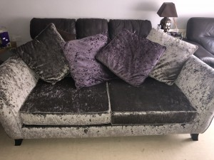 3 SEATER SOFA, basically brand new. Only used a couple of months but not needed anymore. Has a stainless spray on it so it can not get stained. I paid £700 for this but selling for £150 or near offer. Collection only.