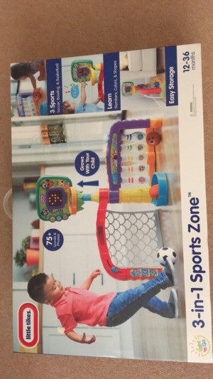 3 in 1 sports zone 12+ years never been opened batteries included