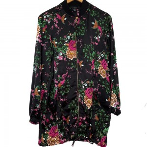 Thin floral jacket