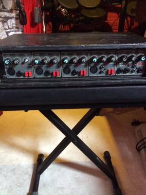 4 channel mixer amp