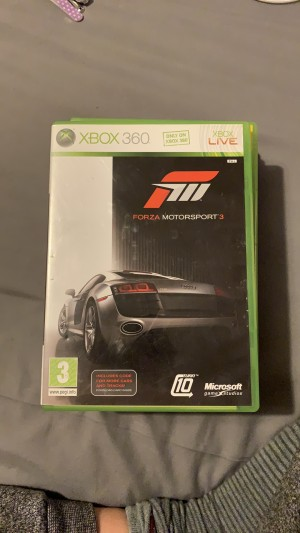 Forza motorsports 3 xbox 360 game