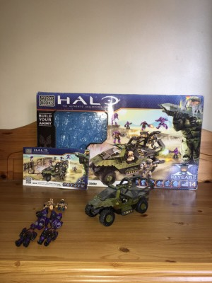 HALO REACH LEGO, BOX AND INSTRUCTIONS INCLUDED. OPEN TO OFFERS
