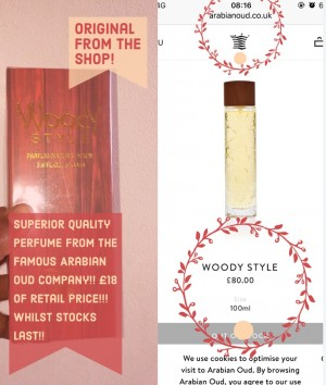 Superior perfume by The Famous Arabian oud company