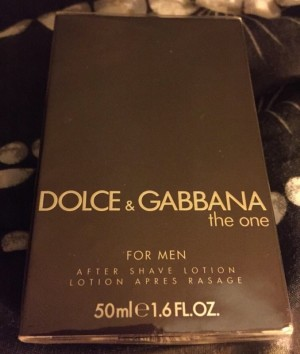 DOLCE & GABBANA THE ONE AFTERSHAVE LOTION