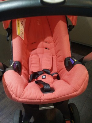 Combination Infant Car Seat and Stroller - BRILLIANT!
