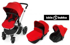 Ickle bubba stomp v2 baby all in one travel system - Red