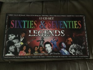 Sixties and seventies boxed cd's