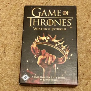 Game Of Thrones Westeros Intrigue Family Fun HBO Game (2014 Fantasy Fl