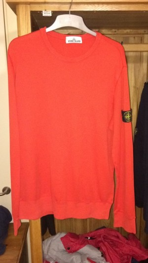 men's stone island jumper size large