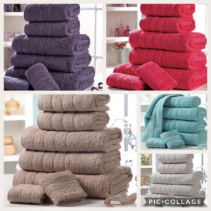 100% Egyptian Cotton Towel Bale