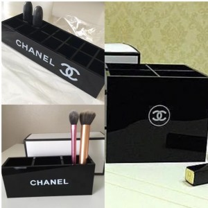 Chanel Make Up Storage Set Of Three