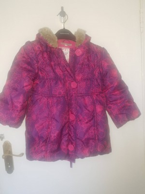 Girl coat from Marks and Spencer