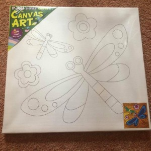 Kid's Art Activity Canvas Painting Set  Item is in new condition ref