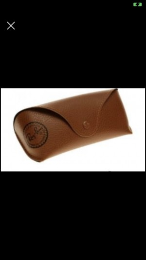 Brown glasses case brand new