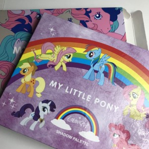 Colour pop my little pony Shadow Palette