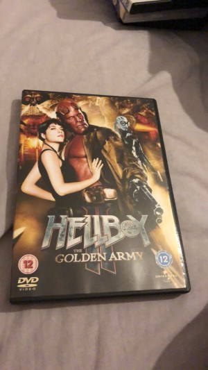Hell boy 2 the golden army dvd