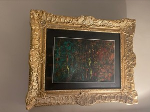 Original Artwork in Gilded Frame